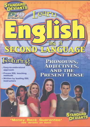 ESL:PRONOUNS ADJECTIVES AND THE PRESE BY STANDARD DEVIANTS (DVD)